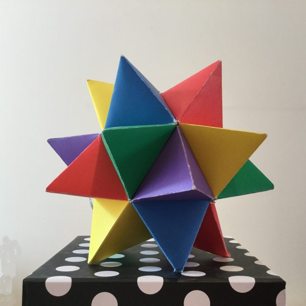 Spike - augmented icosahedron
