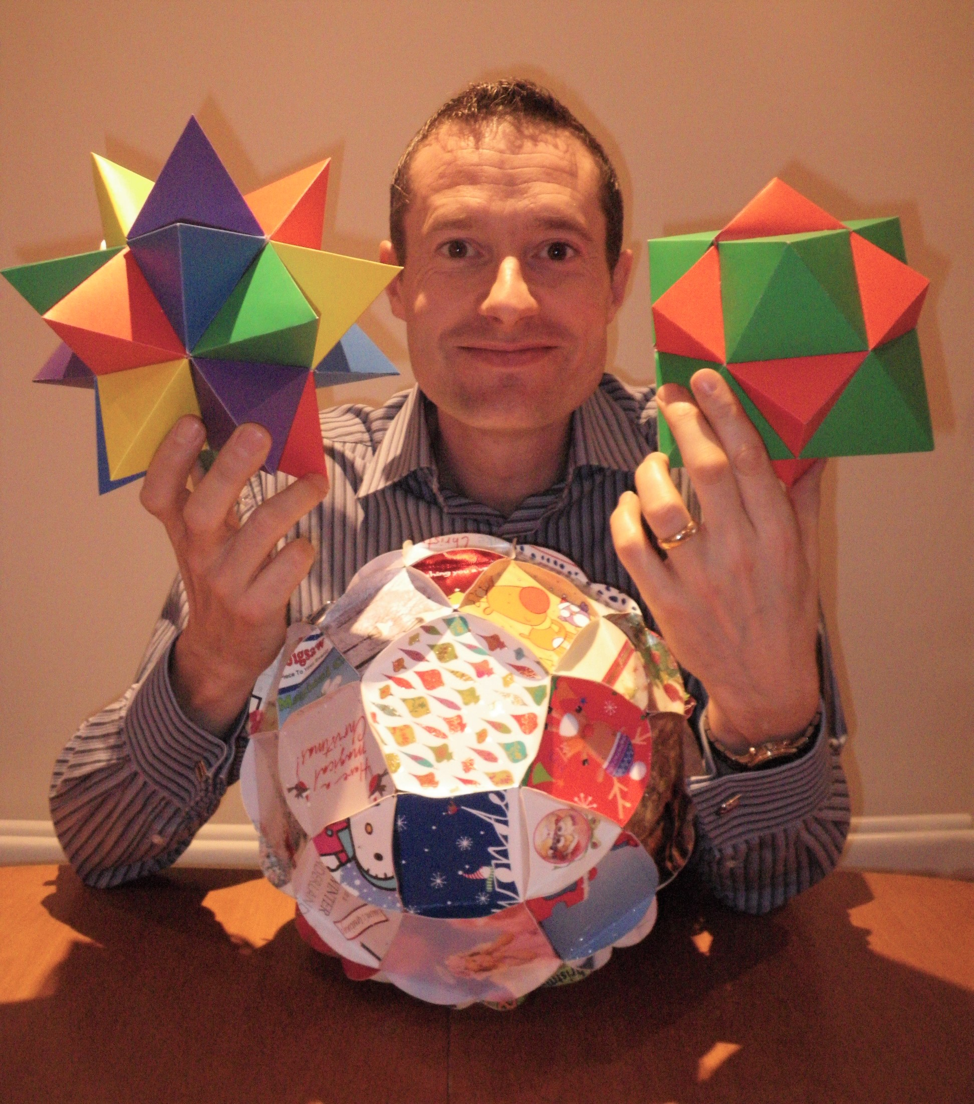 Barney M-T with polyhedra