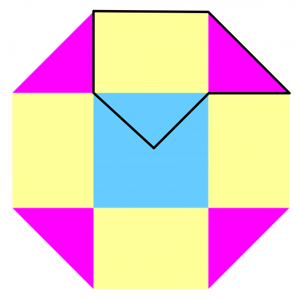 octagon split into hexagons