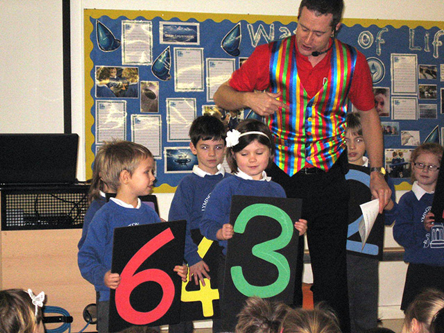 House of Maths Shows Place Value
