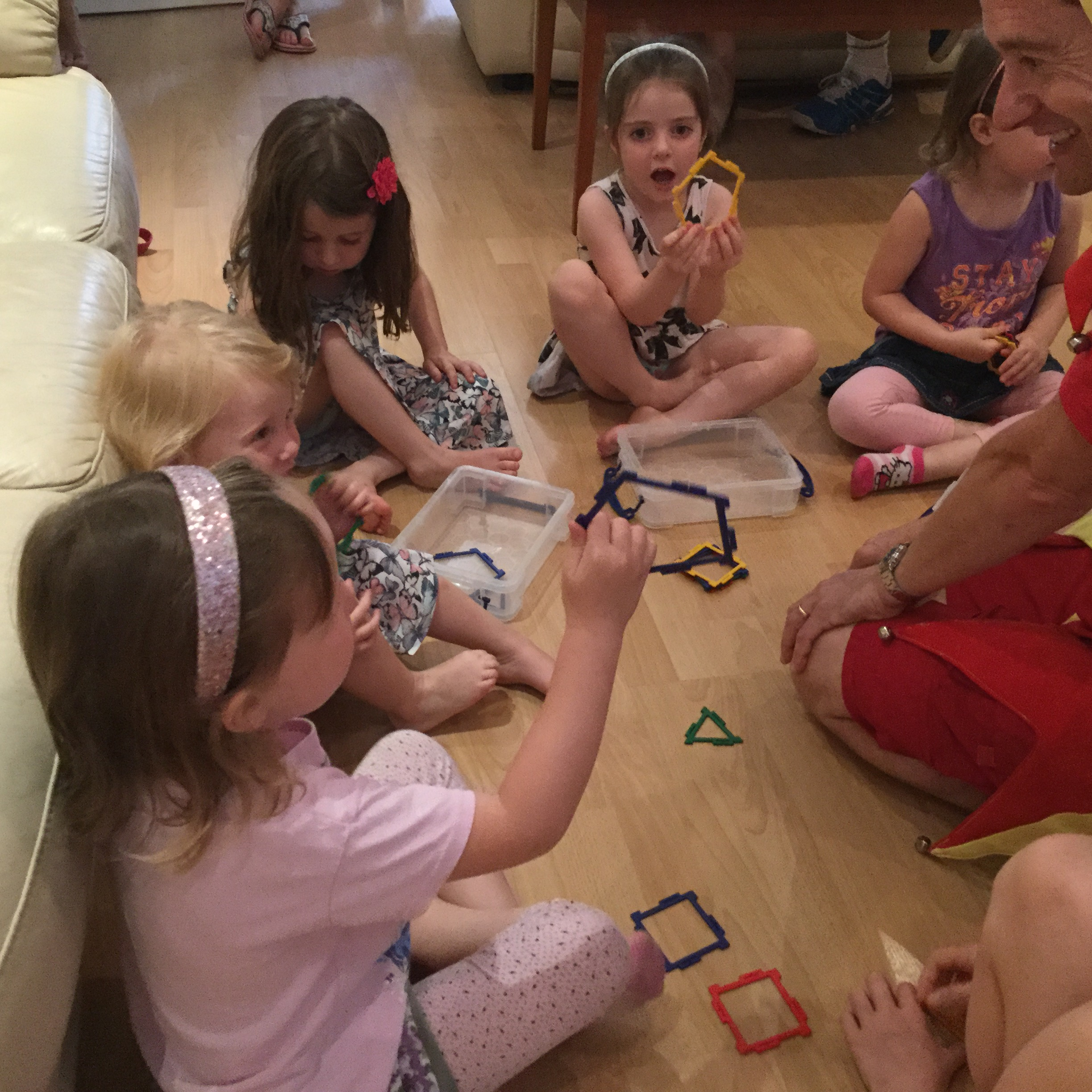 Preschool Geometry Workshop