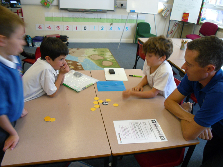 House of Maths Workshops The Poison Coin Game