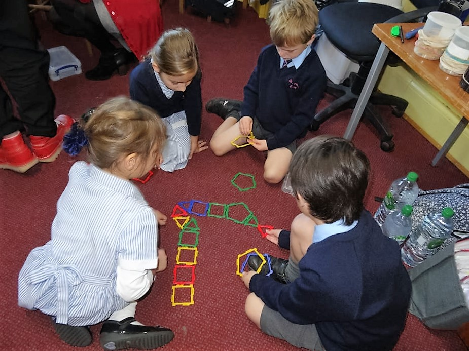 Year 1 explore colour and shape