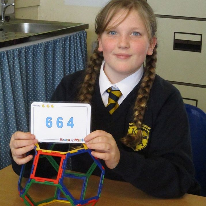 Year 6 Polyhedra workshop